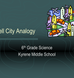 Cell City Analogy - Kyrene School District [ 768 x 1024 Pixel ]