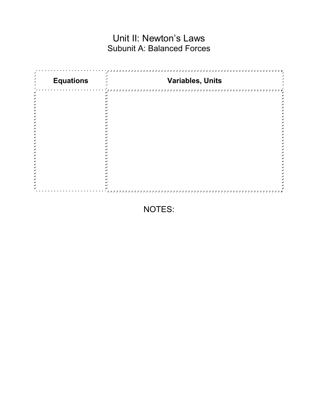 Free Particle Model Worksheet 1a Force Diagrams Answer Key