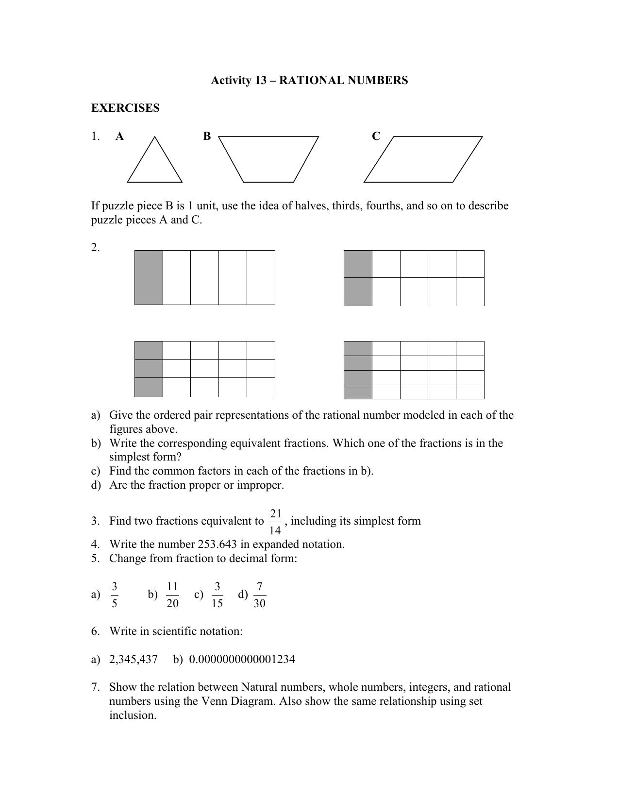 hight resolution of whole number integer vvenn diagram