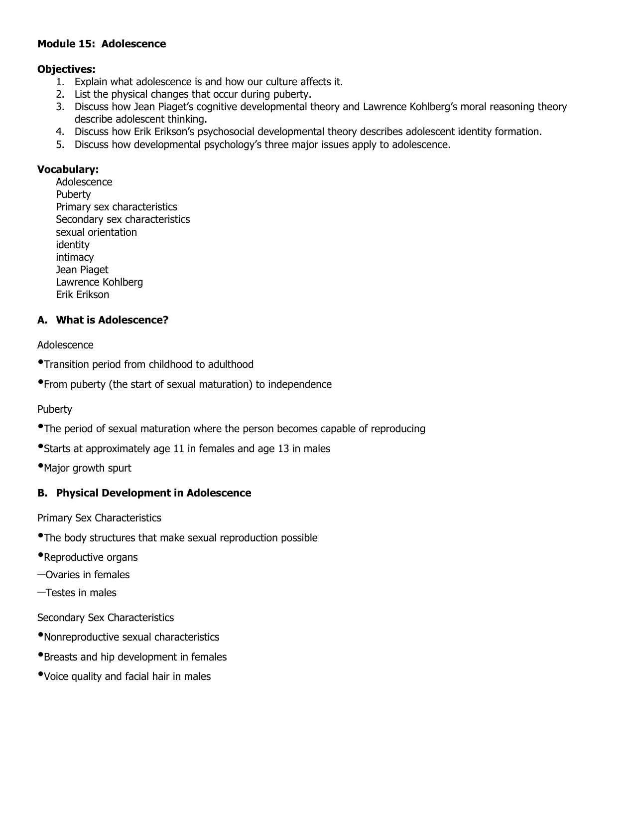hight resolution of Module 15 Notes