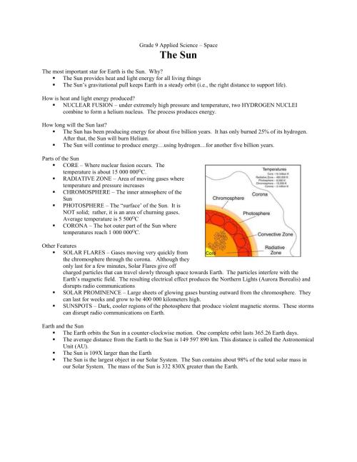 small resolution of Grade 9 Science – Unit 4
