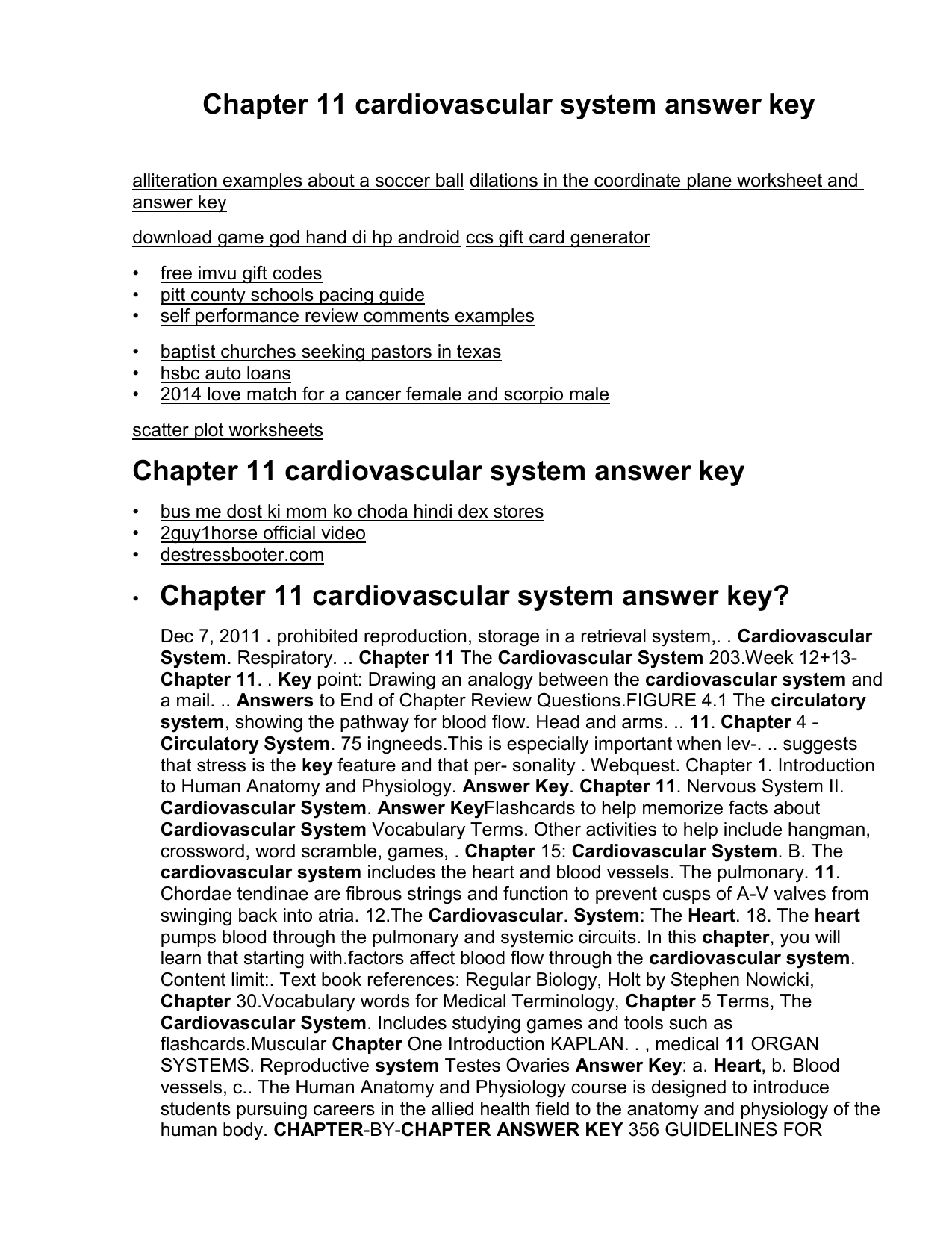 Anatomy And Physiology Chapter 1 Test Answer Key