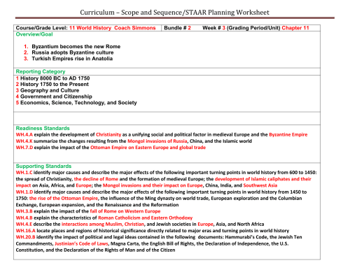 small resolution of Curriculum – Scope and Sequence/STAAR