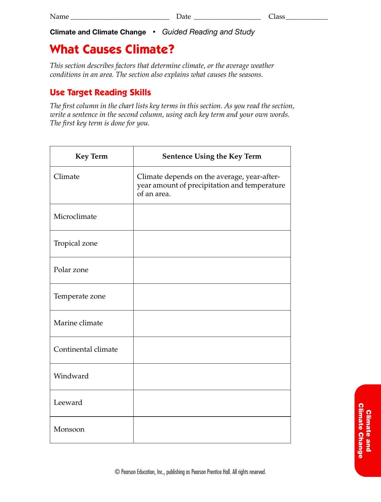 Worksheet Climate Worksheet Grass Fedjp Worksheet Study Site