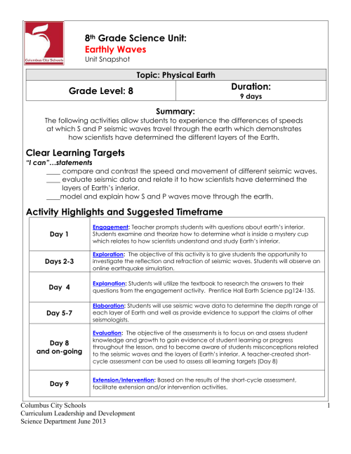 small resolution of 8th Grade Science Sound Worksheets   Printable Worksheets and Activities  for Teachers