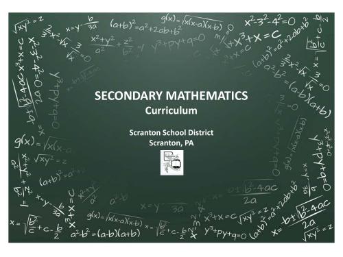 small resolution of secondary mathematics