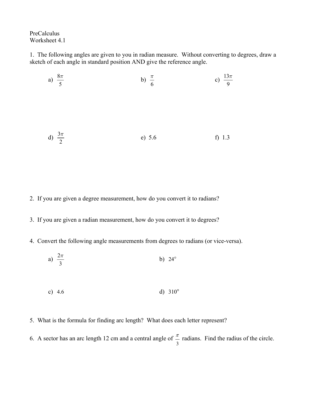 Worksheet Reference Angle Worksheet Grass Fedjp