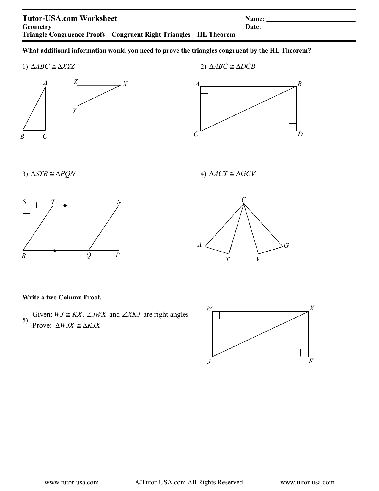 Tutor Usa Com Worksheet