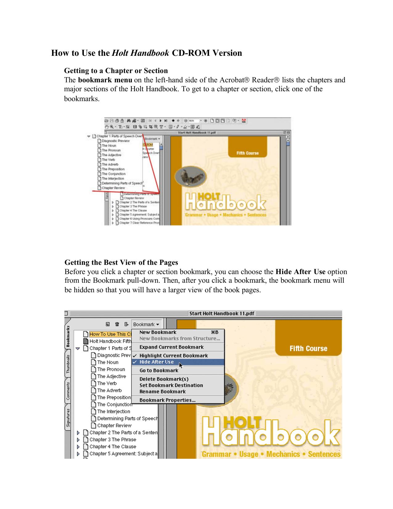 hight resolution of Lang Arts 11 HANDBOOK Grammar textbook
