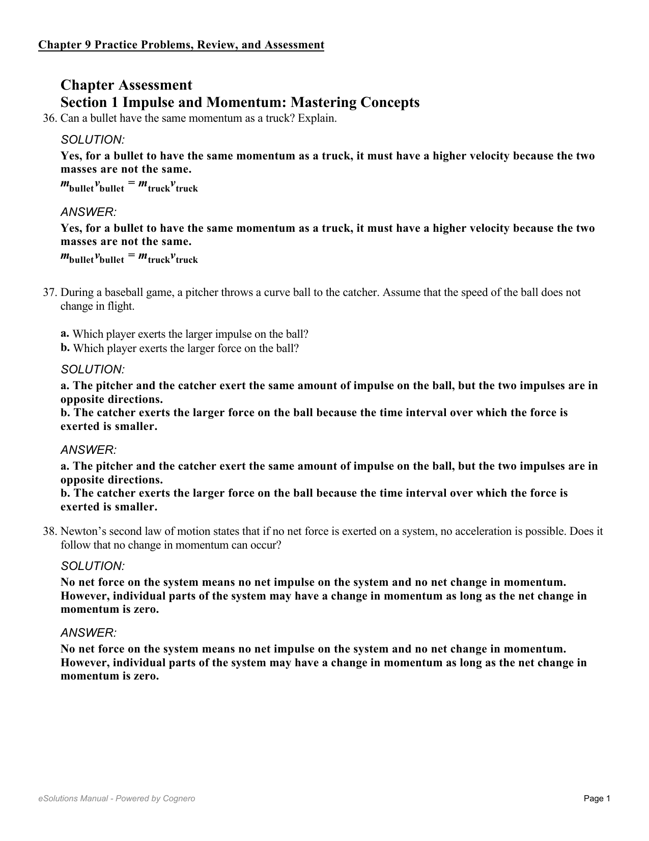 Velocity Practice Problems Worksheet