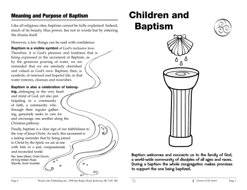 small resolution of diagram of baptism