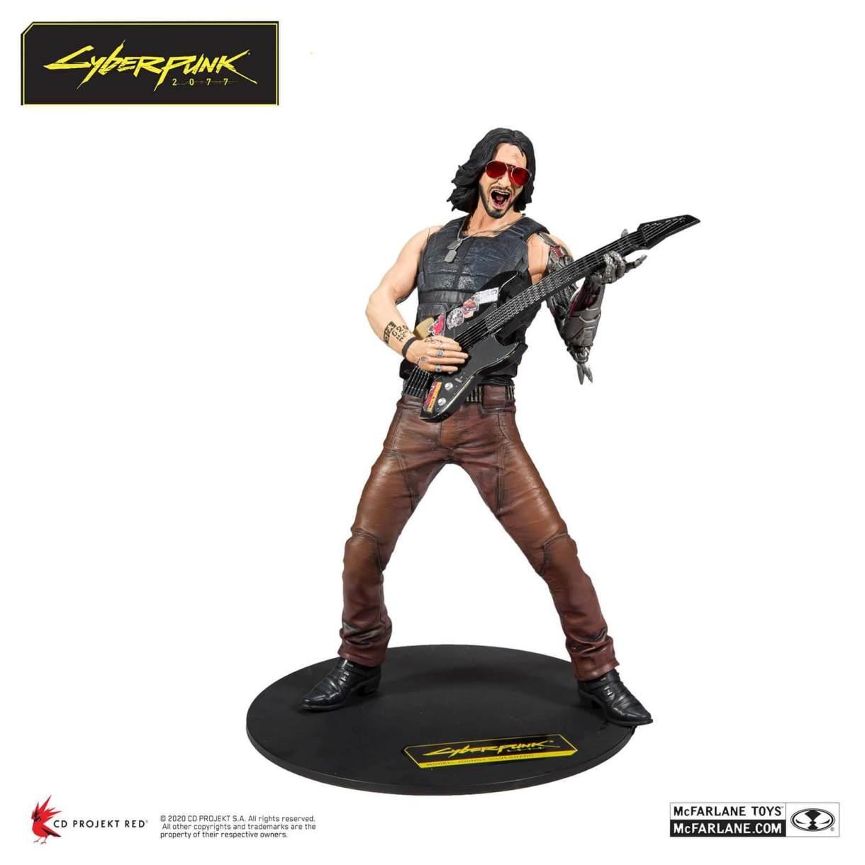 McFarlane Toys Cyberpunk 2077 Johnny 12-Inch Action Figure ...