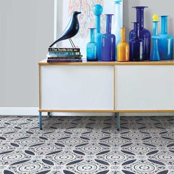 floorpops peel and stick self adhesive floor tiles sienna