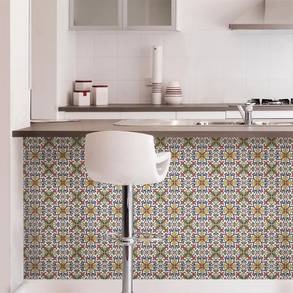 tuscan tile peel stick self adhesive wall tiles