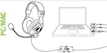 Turtle Beach: X12 Pro Gaming Headset (Xbox 360 / PC) Games