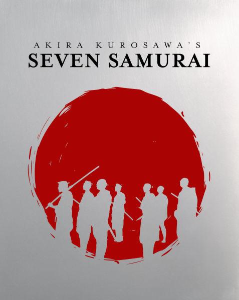 Seven Samurai Steelbook Edition Blu Ray