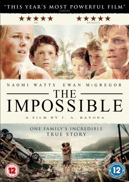 The Impossible DVD  Zavvi