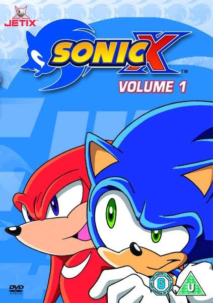 Sonic X  Vol 1 DVD  Zavvi