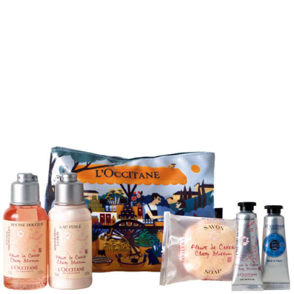 LOccitane Cherry Blossom Discovery Kit 5 Products