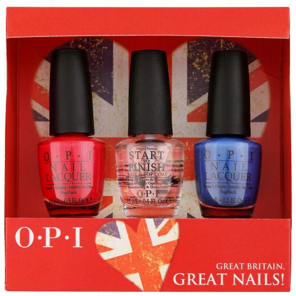 OPI Exclusive British Nail Gift Set Free Shipping