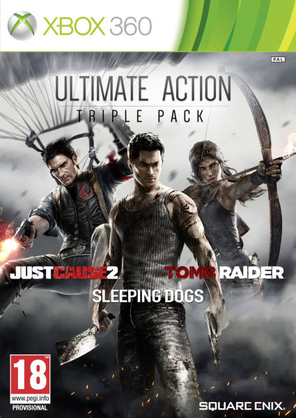 Action Triple Pack Xbox 360