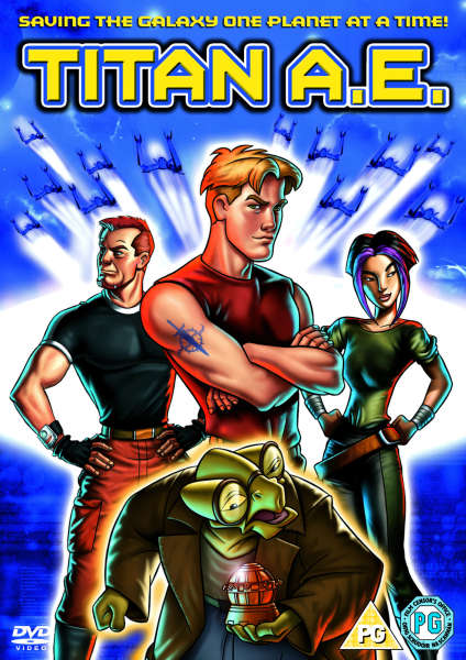 Titan AE DVD  Zavvi