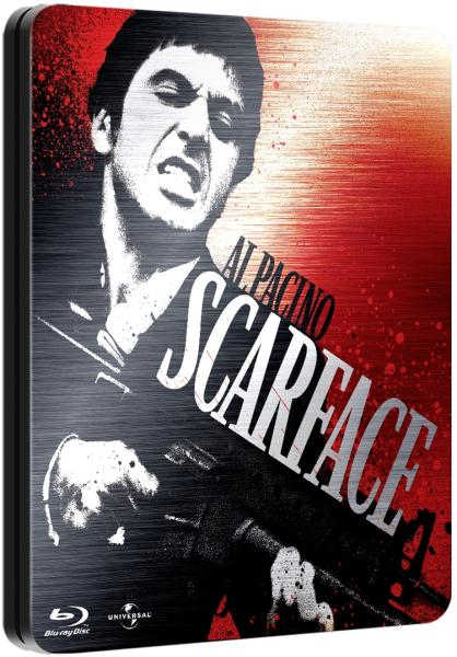 Scarface Limited Steelbook Edition Bluray  Zavvi