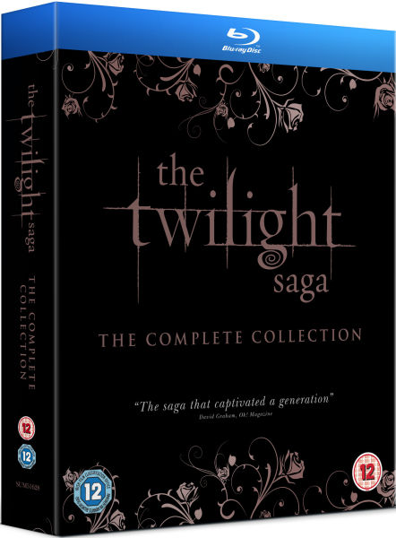 The Twilight Saga The Complete Collection Includes Extended Edition of Breaking Dawn  Part 1