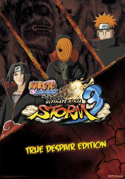 Nintendo 3d Wallpaper Naruto Shippuden Ultimate Ninja Storm 3 True Despair