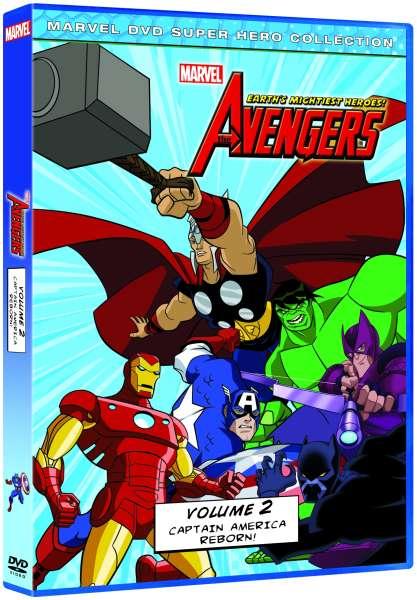 Avengers Earths Mightiest Heroes  Volume 2 DVD  Zavvi