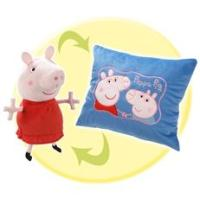 Peppa Pig: Reversible Pillow (Hug and Snuggle) Toys ...