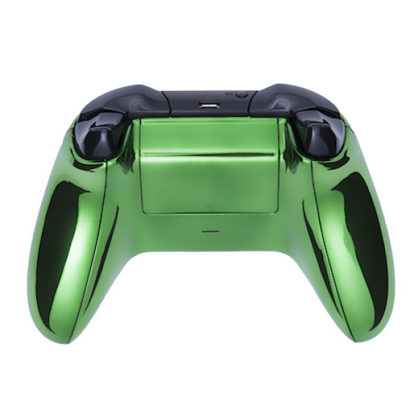 Xbox One Wireless Custom Controller Chrome Green Games Accessories