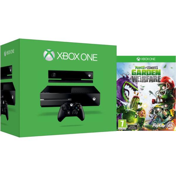 Xbox One New Console Includes Plants Vs Zombies Garden Warfare Games Consoles Zavvi