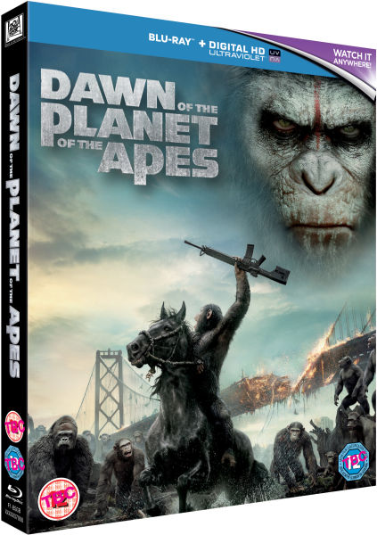 Dawn Of The Planet Of The Apes Includes UltraViolet Copy Blu Ray