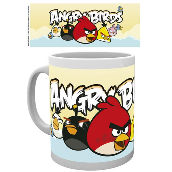 Angry Birds Formation Mug Merchandise Zavvi