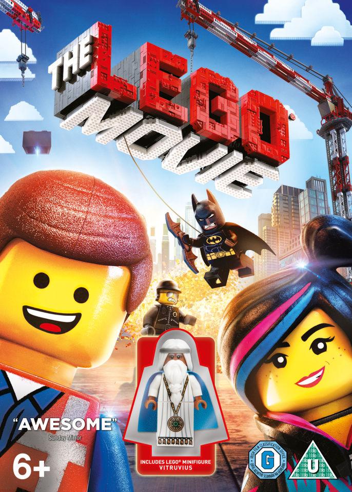 The Lego Movie Includes Lego Minifigure Vitruvius Dvd