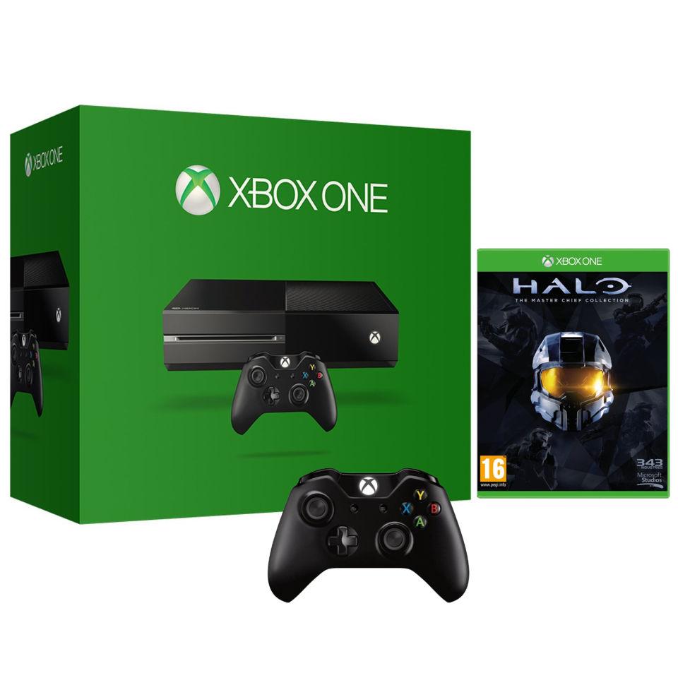 Xbox One Console  Halo The Master Chief Collection  Wireless Controller Games Consoles  Zavvi