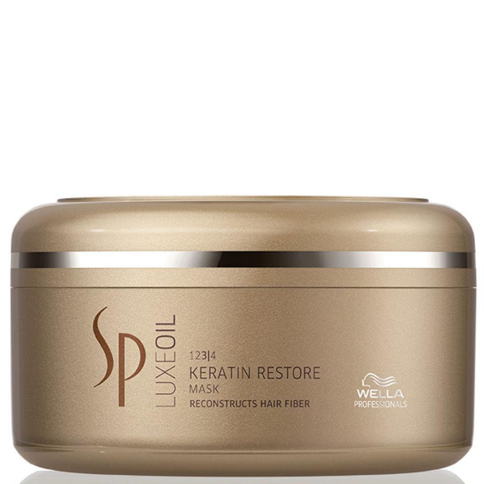Wella SP Luxeoil Keratin Restore Mask 150ml Free