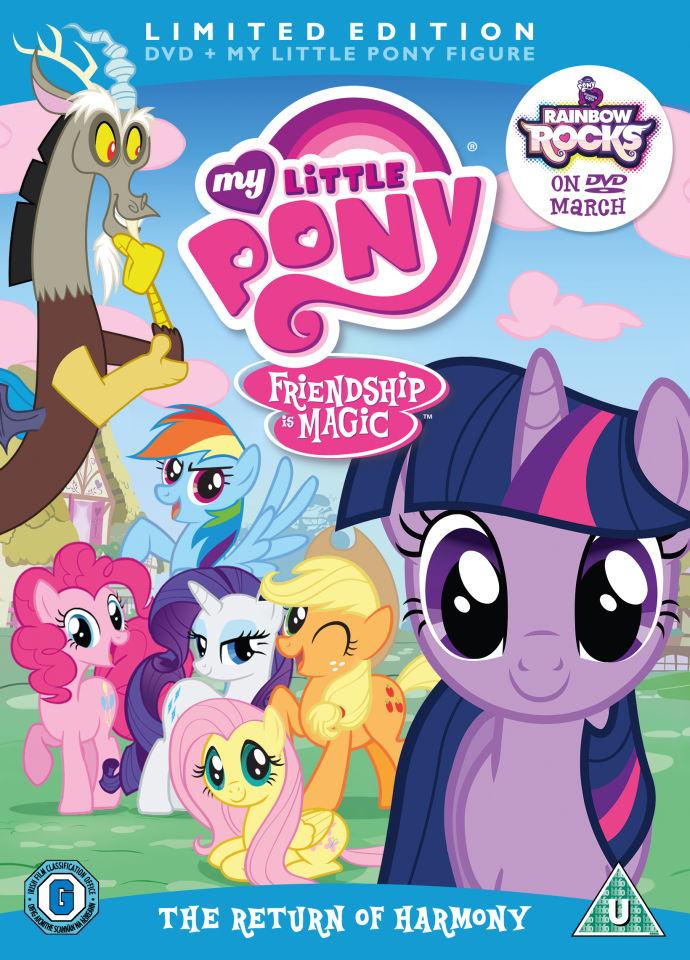 My Little Pony  Season 2 Volume 1 The Return of Harmony