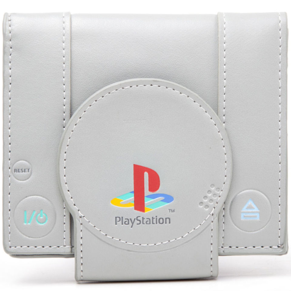 Sony PlayStation One Console Bi Fold Wallet IWOOT