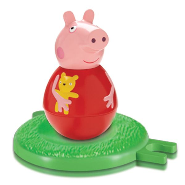 Peppa Pig Weebles Wobbly Figure And Base Iwoot