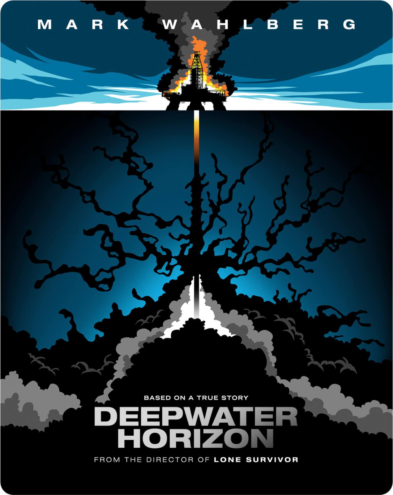 Deepwater Horizon  Limited Edition Steelbook Bluray