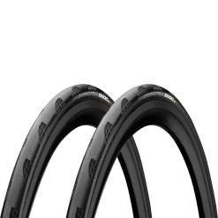 Continental Grand Prix 5000 Tubeless Clincher Road Tyre Twin Pack - Black