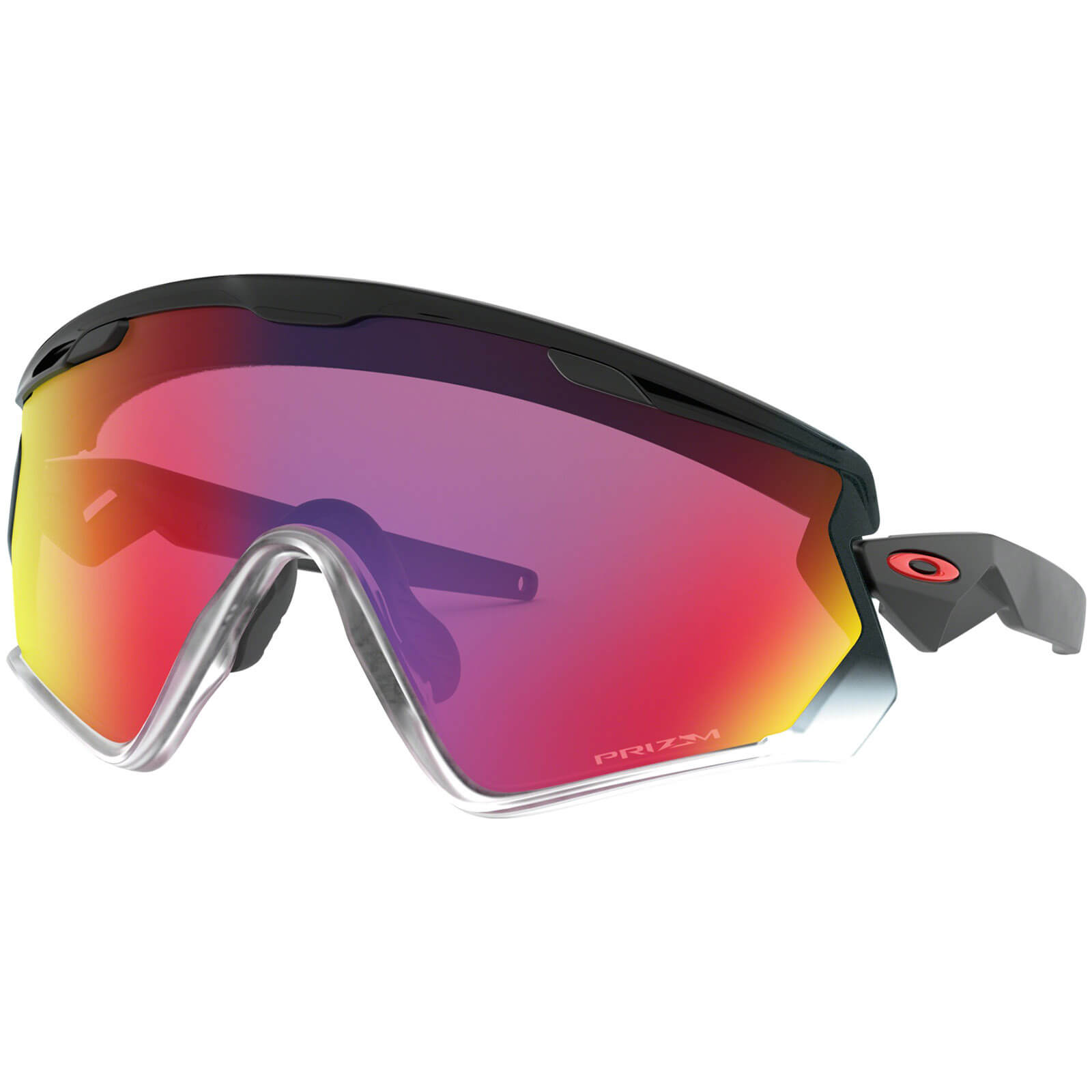 Oakley Wind Jacket 2.0 Sunglasses - Black Fade/Prizm Road