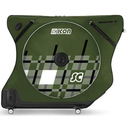 Scicon AeroComfort Road 3.0 TSA Bike Bag - Limited Edition - Plaid - Racing Green