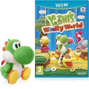 Yoshi's Woolly World+ Green Yarn Yoshi amiibo Pack