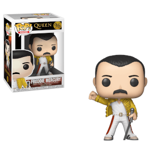 Pop Rocks Queen Freddie Mercury Wembley 1985 Pop Vinyl Figure Pop In A Box Uk