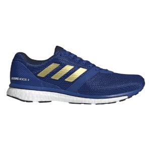 adidas Men's Adizero Adios 4 Running Shoes - Collegiate Royal