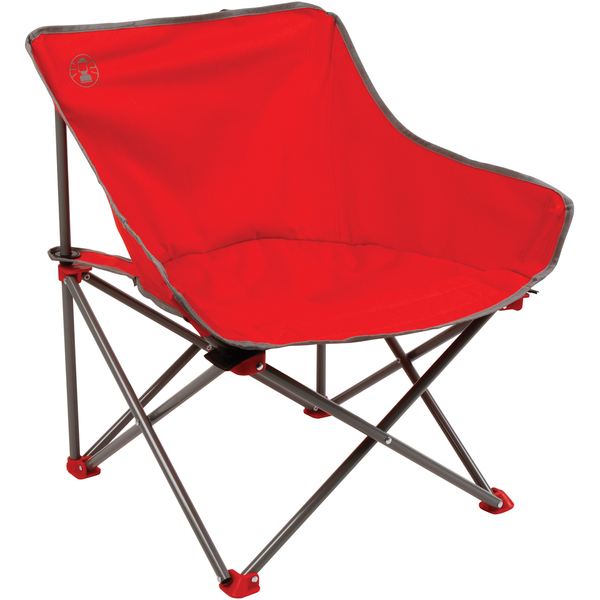coleman max camping chair philippe starck chairs kickback folding - red | iwoot