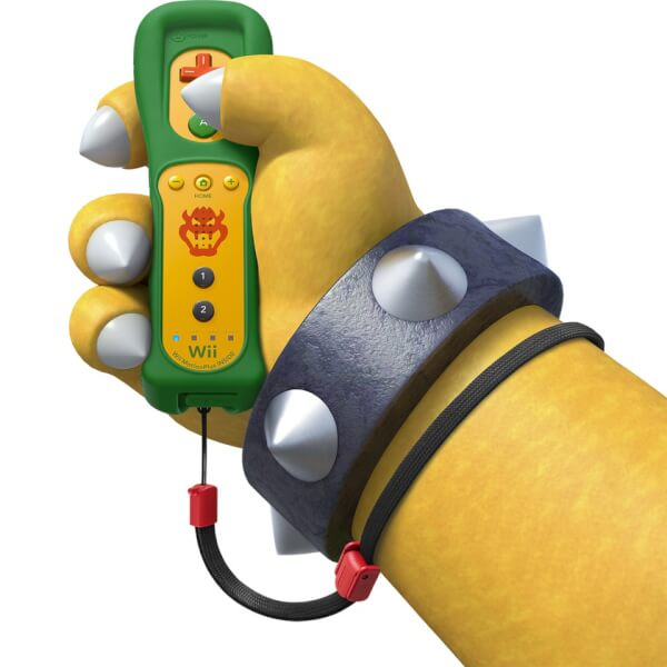 Wii Remote Plus Bowser Nintendo Official UK Store